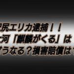 沢尻エリカ逮捕「麒麟がくる」が放送中止に?!代役や損害賠償は?